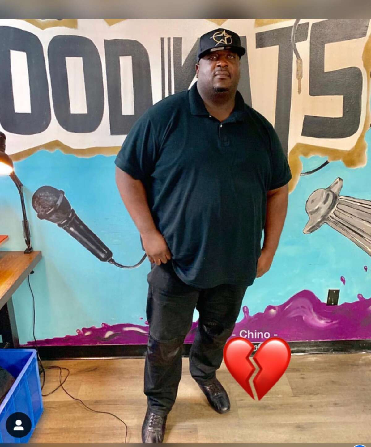 Jon Whitfield, a Houston rapper who frequently wrote for other artists, was killed Monday night at a recording studio in Houston. His daughter described him as a loving and supportive father. She doesn't know why someone would fatally shoot him multiple times during an apparent robbery.