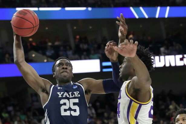 Yale's Miye Oni, the Ivy League player of the year, was honorable mention on the AP All-American team released on Tuesday.