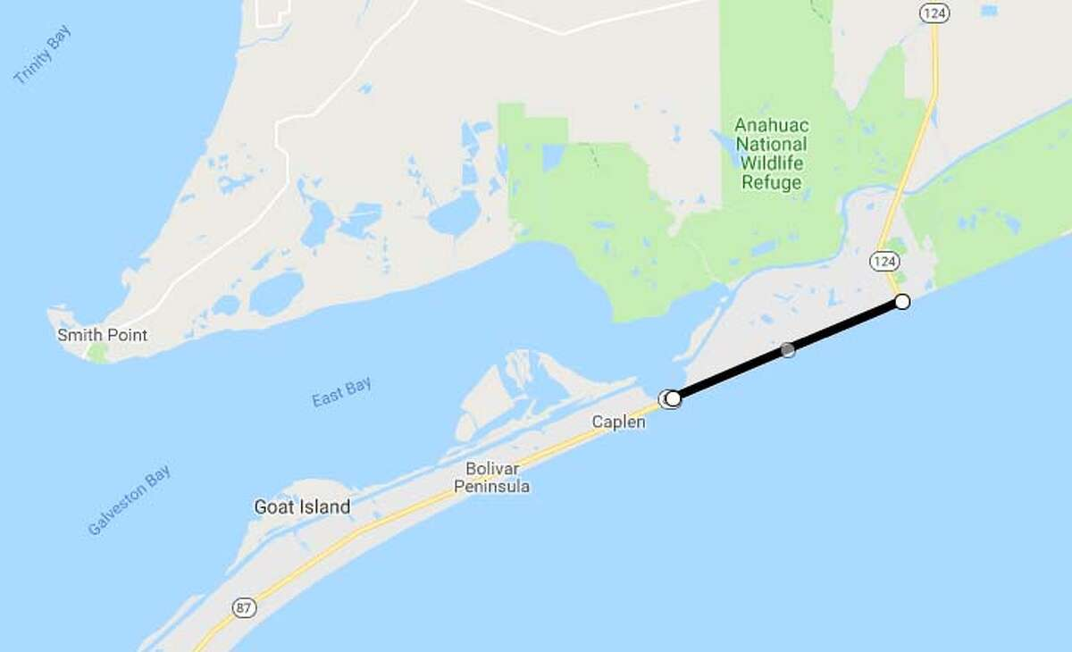 Area: Galveston County Project title: SH87Project limits: Rollover pass to SH 124 Cost estimate: $20.9 million Estimated completion date: October 2019 Description:Rollover pass to SH 124