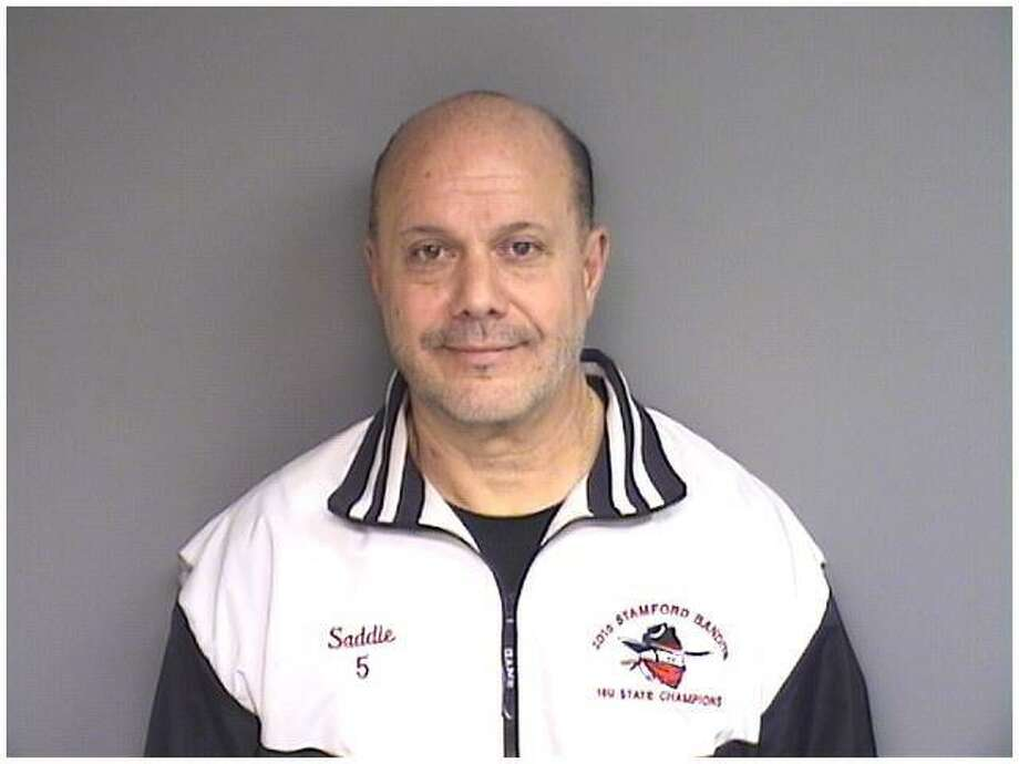 Charles Pia Sr. was arrested March 29, 2019 on charges of embezzling money from the Stamford Babe Ruth Girls Softball chapter. Photo: Stamford Police