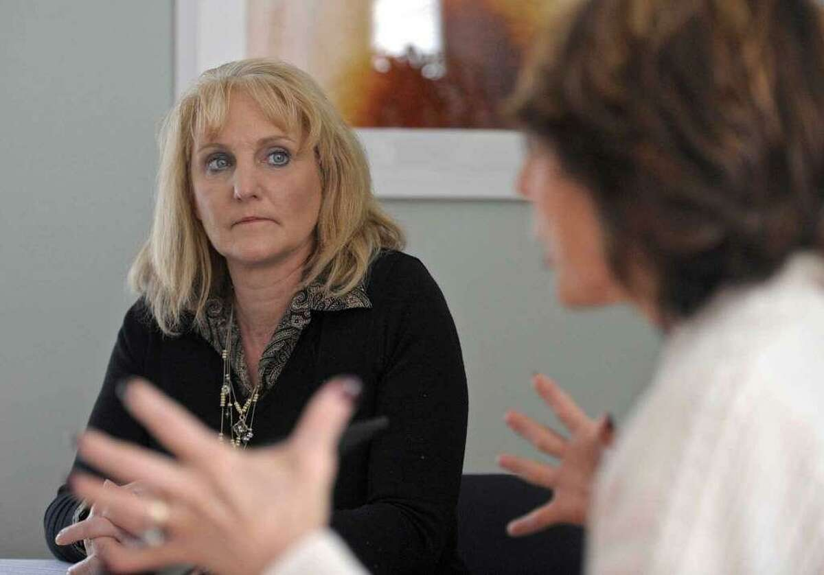 """Melissa Glaser, director of the Newtown Recovery and Resiliency Team, which was disbanded in 2016 when federal funding ran out. Glaser is the author of """"Healing a Community,"""" about the Sandy Hook recovery effort."""