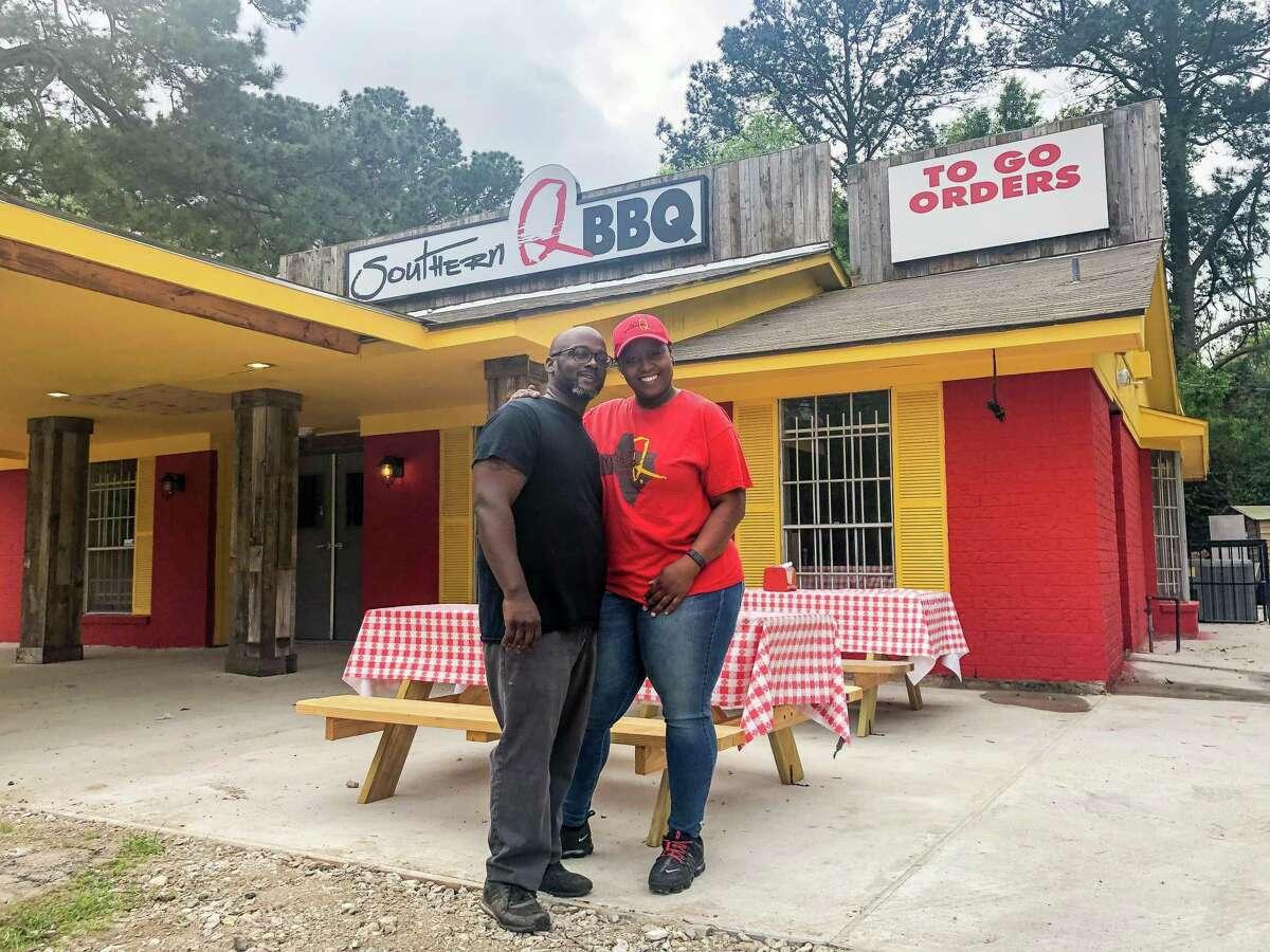 Steve and Sherice Garner at Southern Q BBQ