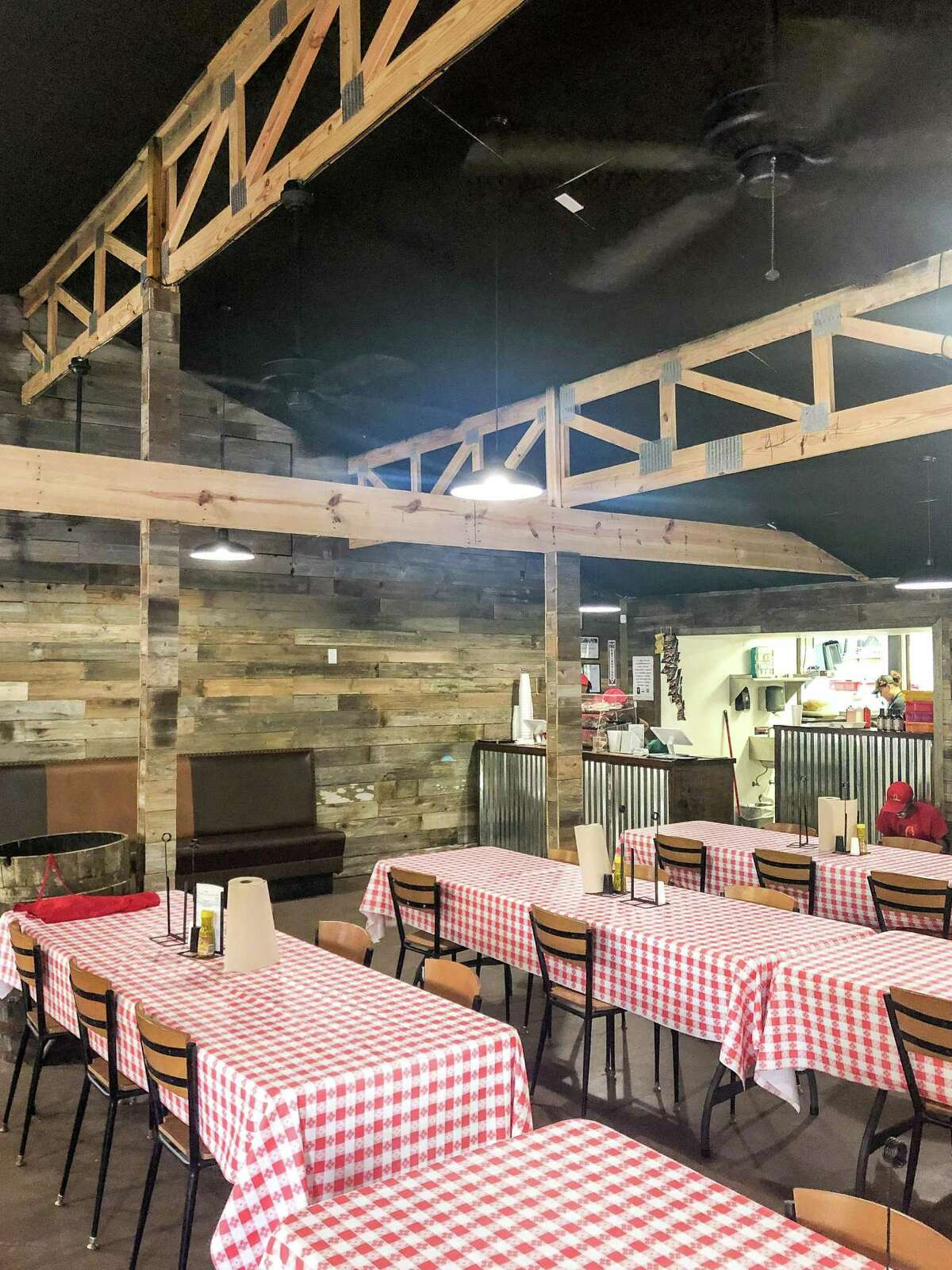 Dining room at Southern Q BBQ