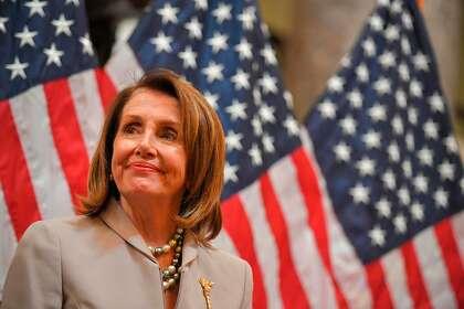 Nancy Pelosi for president. No, really