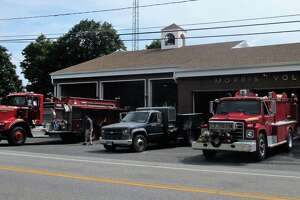 The Morris Fire Co. and Litchfield Volunteer Ambulance firehouse, 15 South St., Morris.