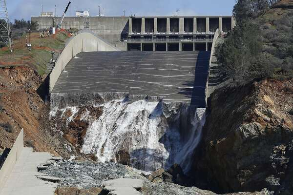 Newly rebuilt Oroville Dam spillway is back  And it may get