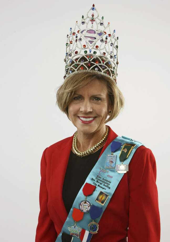 Former City Manager Sheryl Sculley is auctioning about 1,000 of her Fiesta medals, symbols of the city she helped shape — while taking shots for her management style, her tenure and especially her salary. Photo: Staff File Photo / hmontoya@express-news.net