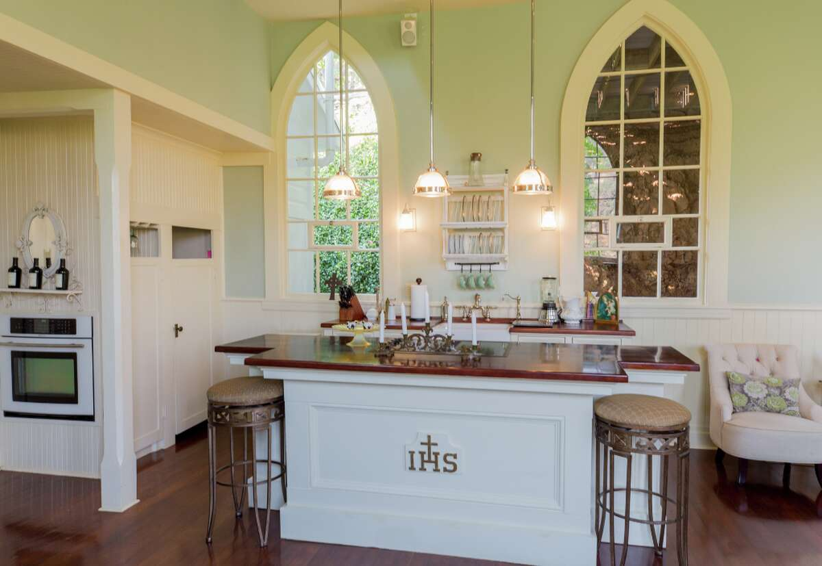 Restored Historic Church & Guest House in CA Wine Country 10602 Fleehart St, Amador City, California Listing price: $999,950
