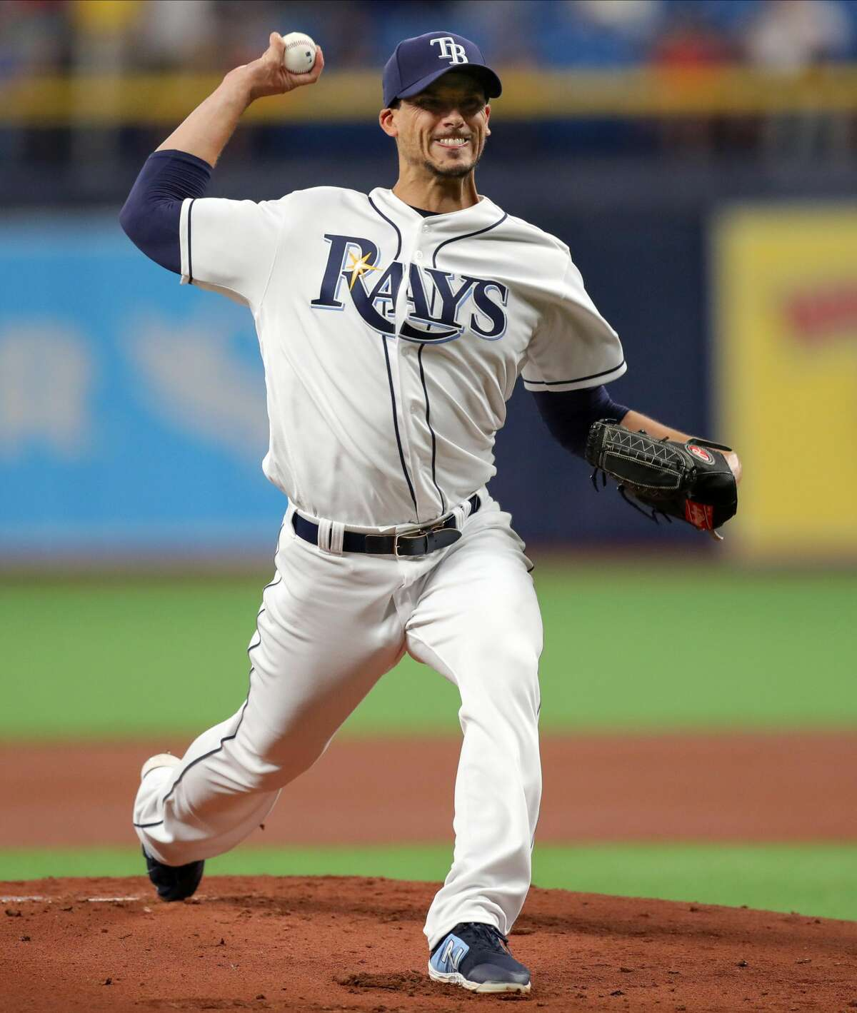 March 29: Rays 4, Astros 2 Record: 1-1 Houston Chronicle's Player of the Game Charlie Morton W/ 5 IP/ 3 hits/ 2 ER/ 8 Ks/ 2 BBs Picked up a victory after facing his former team for the first time.