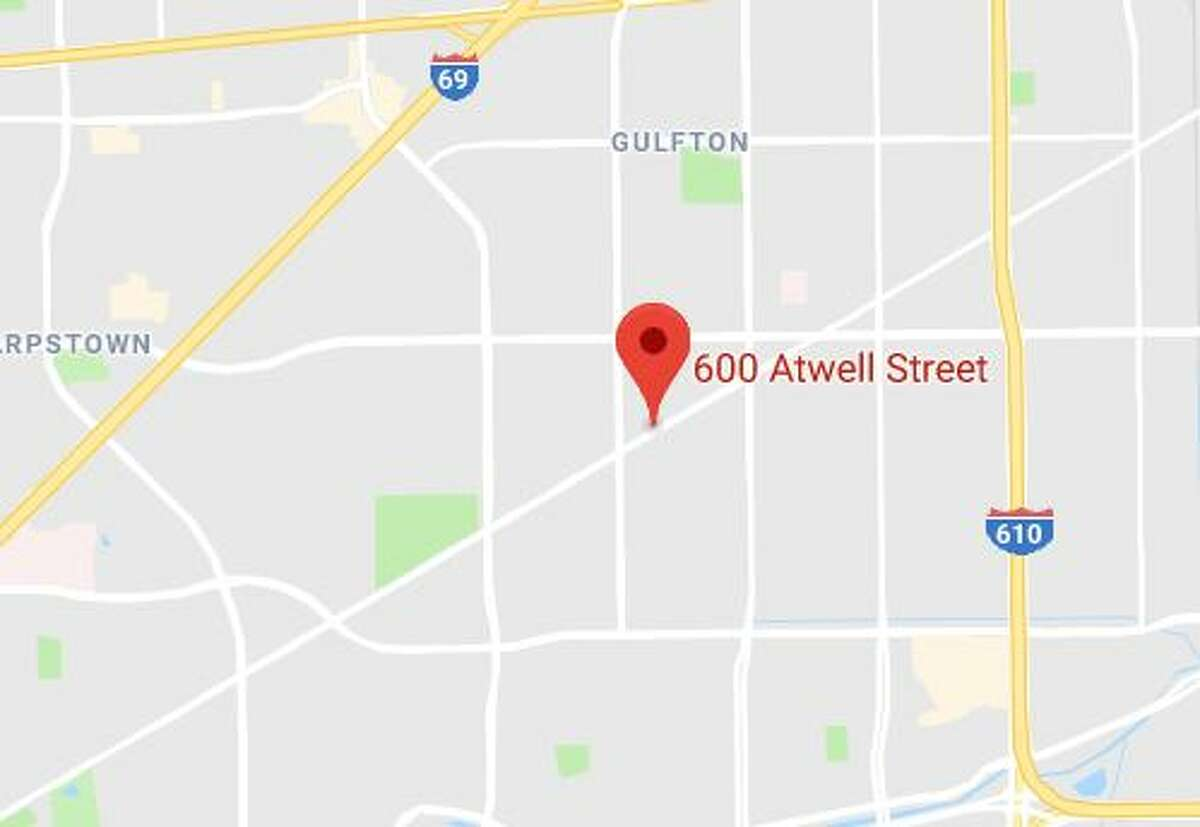 Google Maps view of the 600 block of Atwell.