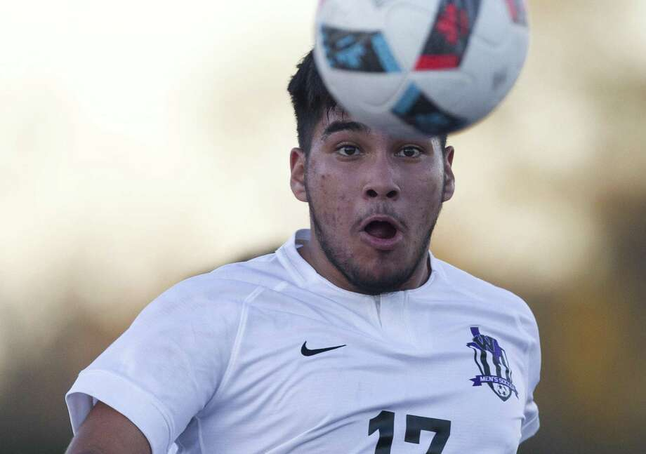 FILE PHOTO — Jesus Frias scored three goals for Willis against A&M Consolidated on Friday night. Photo: Jason Fochtman, Houston Chronicle / Staff Photographer / © 2018 Houston Chronicle