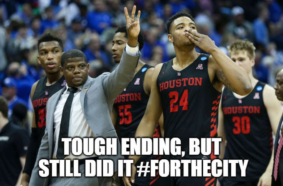 PHOTOS: Best memes from the Sweet 16 of the NCAA Tournament Meme by: Matt Young Photo: Photo: Houston Chronicle; Meme: Matt Young