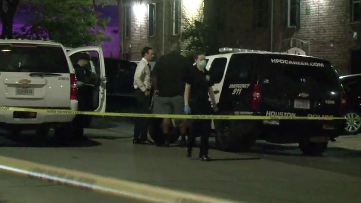 Police were investigating a shooting Friday evening that left a man dead in southwest Houston in the Gulfton area.