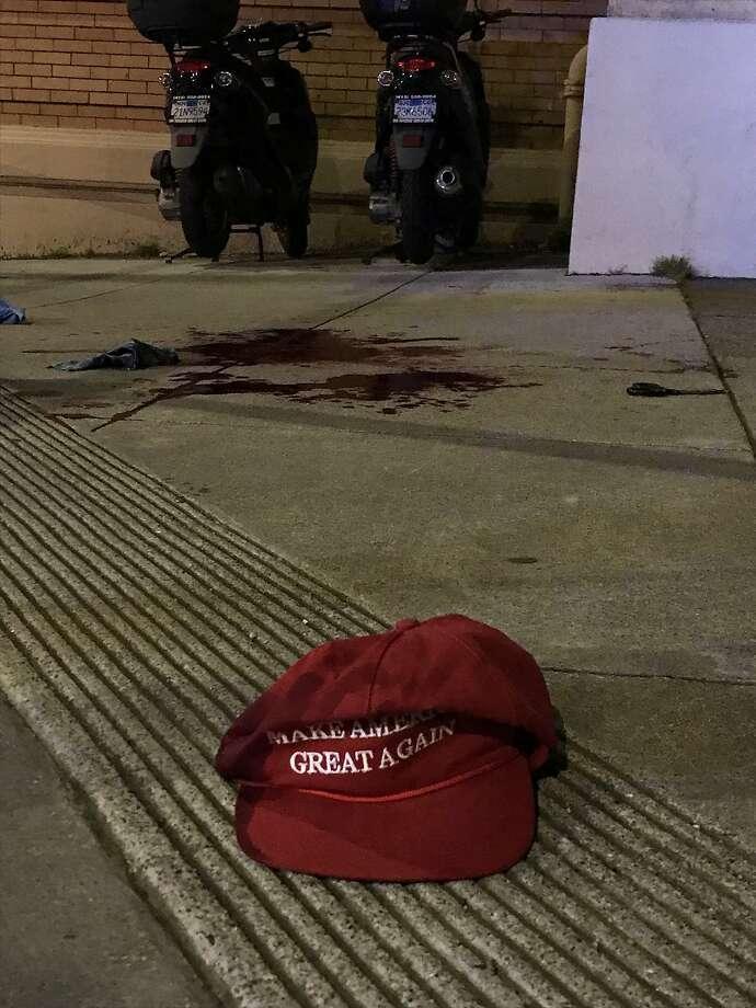 A man was slashed with a sword Friday night outside the Church of 8 Wheels in San Francisco's Western Addition neighborhood, police said. Photo: Gwendolyn Wu