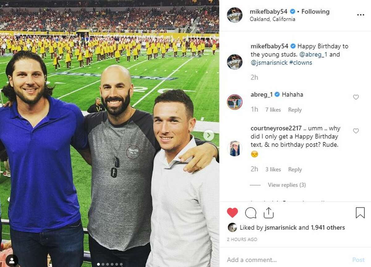 Celebrities, former teammates, media outlets and the rest of social media gave birthday well-wishes to Astros players Alex Bregman and Jake Marisnick on Saturday, March 30, 2019.