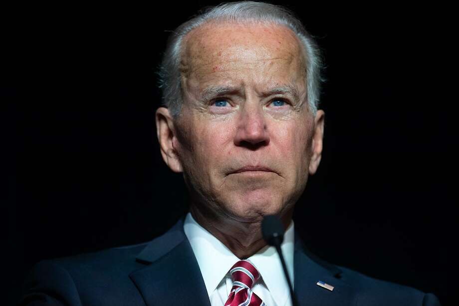 (FILES) In this file photo taken on March 16, 2019, former US vice president Joe Biden speaks during the First State Democratic Dinner in Dover, Delaware. Photo: Saul Loeb, AFP/Getty Images