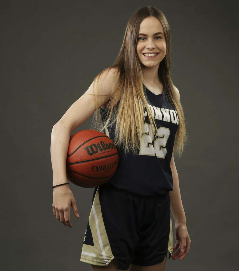 O'Connor's Carleigh Wenzel, Newcomer of the Year for the Express-News' 2018-19 All-Area girls basketball team. (Kin Man Hui/San Antonio Express-News) Photo: Kin Man Hui, Staff / Staff Photographer / ©2019 San Antonio Express-News