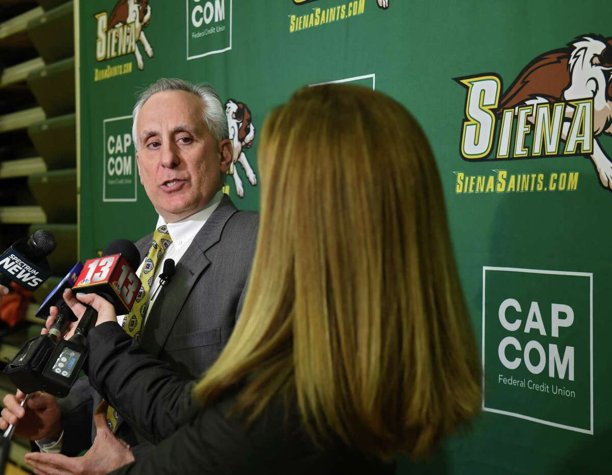 John D'Argenio, Siena College vice president and director of athletics, said he thinks it's the right time to have athletes get the opportunity to profit from their name, image and likeness. (Lori Van Buren/Times Union archive)
