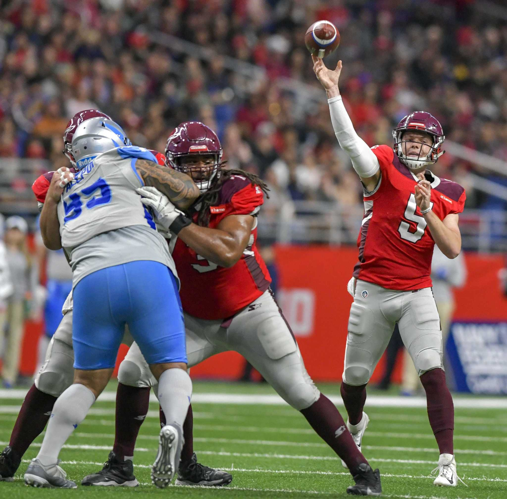 MGM acquires bankrupt football league's gaming technology