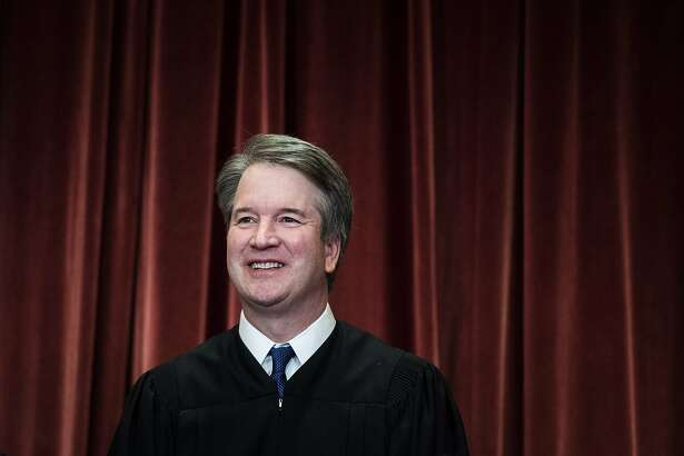 Justice Brett Kavanaugh concurred Thursday with the Supreme Court's liberal justices that a Buddhist man's execution should be stopped because he was not allowed a spiritual adviser by his side, but last month he was on the other side when the court allowed the execution of a Muslim inmate in Alabama under similar circumstances. MUST CREDIT: Washington Post photo by Jabin Botsford