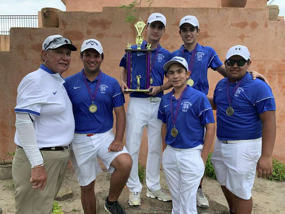 St. Augustine won the team and individual titles Saturday in the LBJ Invitational at the Max A. Mandel Municipal Golf Course. Photo: Courtesy Photo