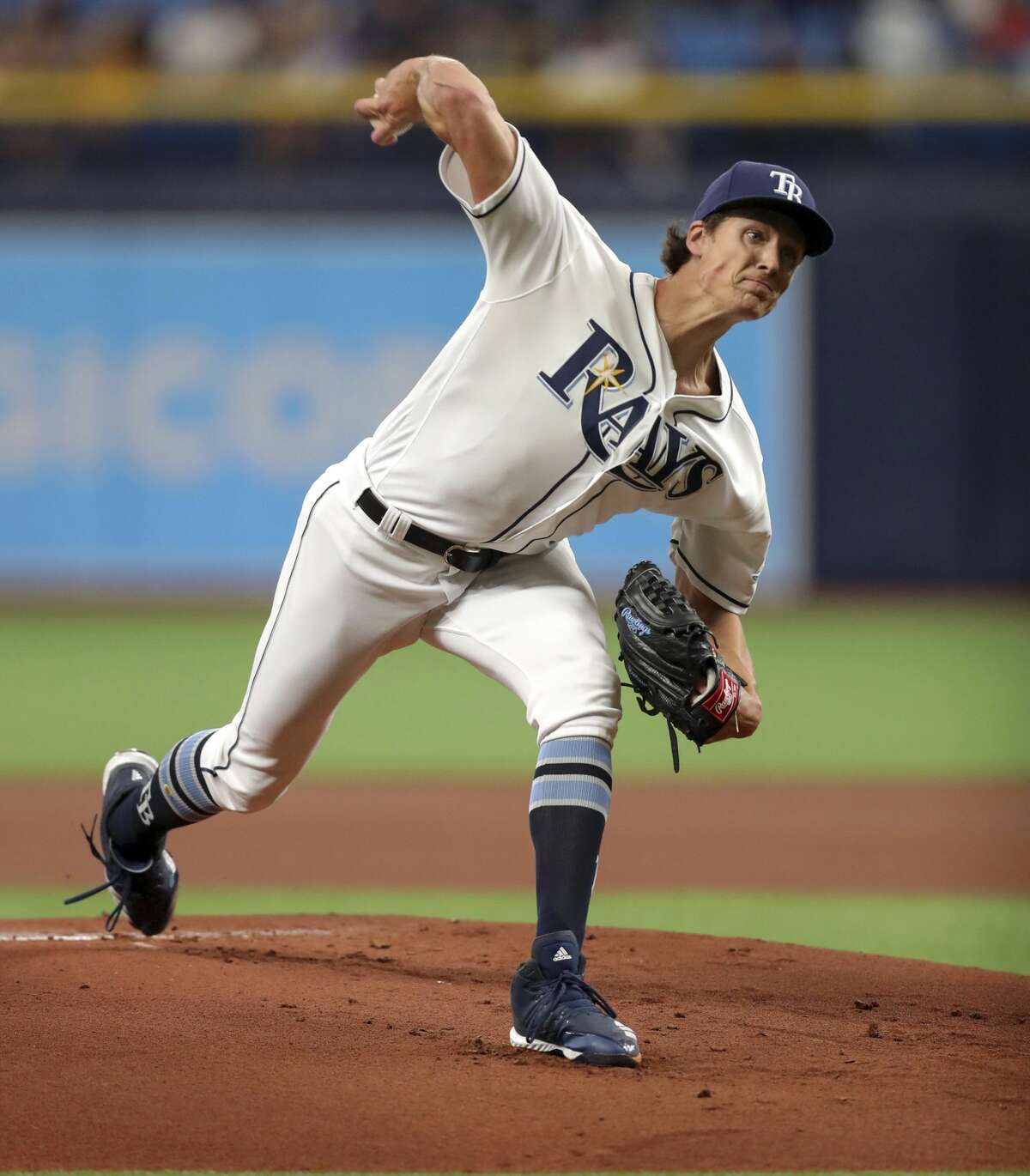 March 30:Rays 3, Astros 1 Record:1-2 Houston Chronicle's Player of the Game Tyler Glasnow W/ 5 IP/ 6 hits/ 1 ER/ 4 Ks/ 1 BB
