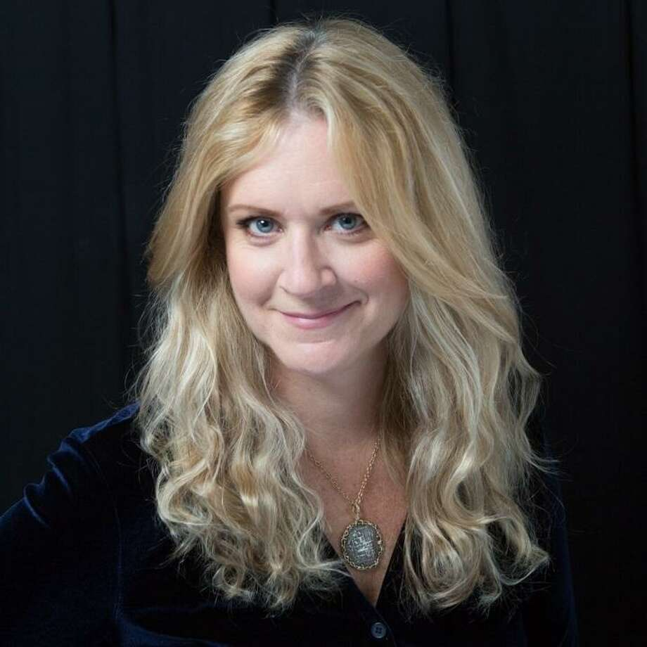 """GHOST TALK: Journalist, humorist and author Kris Frieswick will talk about her new book, """"The Ghost Manuscript,"""" a suspenseful quest for King Arthur's tomb written in the spirit of great thrillers with female protagonists that takes readers to Wales, Boston and eventually to Cape Cod, on Wednesday, April 3, at 7 p.m. at R.J. Julia Booksellers, 768 Boston Post Road in Madison. For more information, call 203-245-3959. Photo: Lauren Schreiber / Contributed Photo"""
