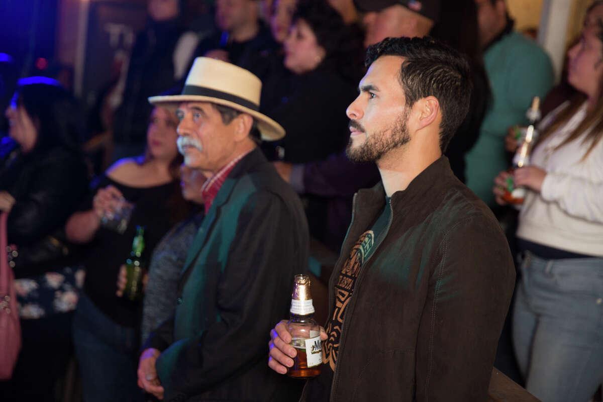 "San Antonio band, Volcan, celebrated their latest single ""Tu Me Elevas"" on Saturday, March 30, at Jandro's Garden Patio."