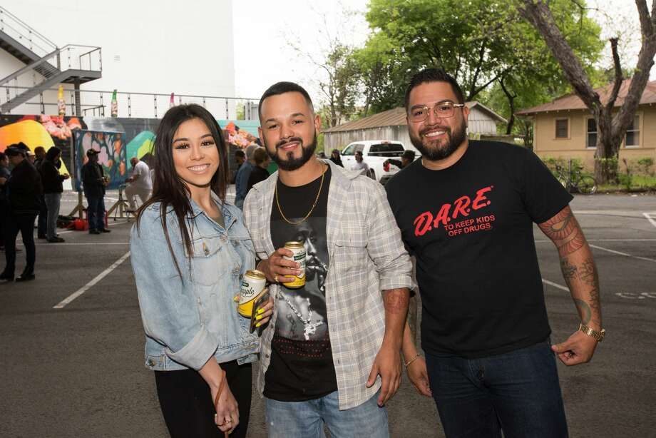 On Saturday, March 30, the San Antonio Street Art Initiative celebrated the second phase of its Murals & Music @ Midtown project. Photo: Aiessa Ammeter For MySA.com