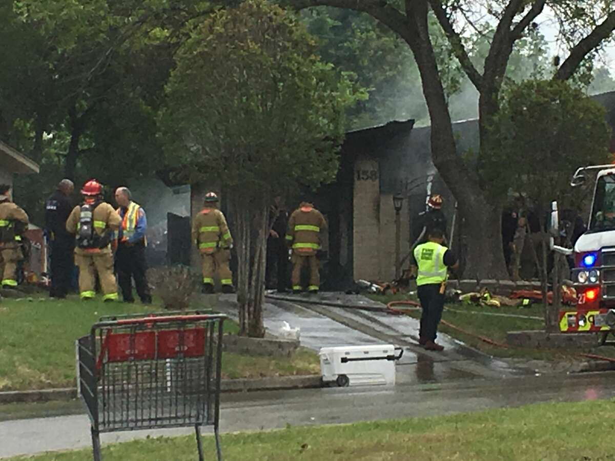 One person is dead after a fire on the city's Northwest Side resulted in at least 26 units from the San Antonio Fire Department to respond, Sunday March 31, 2019.