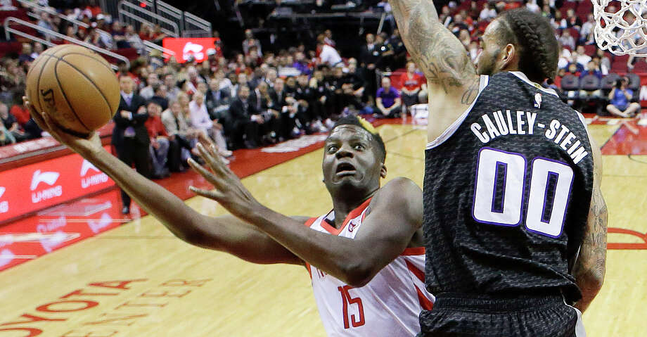 PHOTOS: 2018-19 Rockets game-by-game Houston Rockets center Clint Capela, left, shoots as Sacramento Kings center Willie Cauley-Stein defends during the first half of an NBA basketball game, Saturday, March 30, 2019, in Houston. (AP Photo/Eric Christian Smith) >>>See how the Rockets have fared in each game during the regular season ... Photo: Eric Christian Smith/Associated Press / Copyright 2019 The Associated Press. All rights reserved.