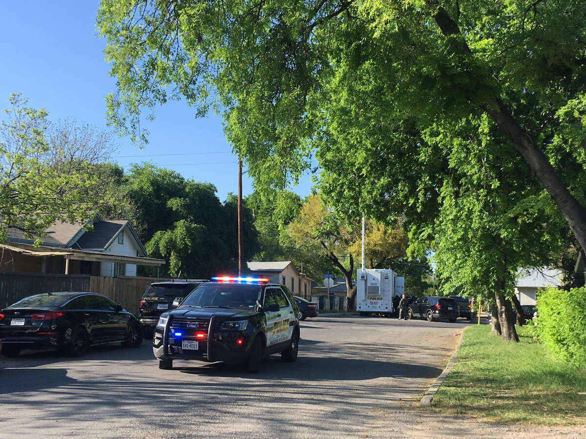 Police responded to the 1600 block of Fresno for reports of a man in his 40s with a gun on Sunday, March 31, 2019.