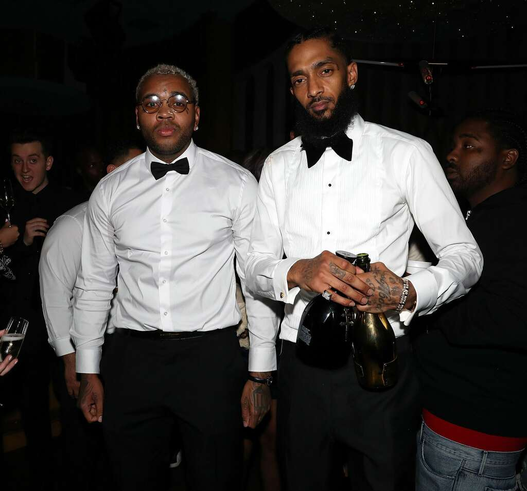 Rapper Nipsey Hussle worked to end gang violence  He was killed in a
