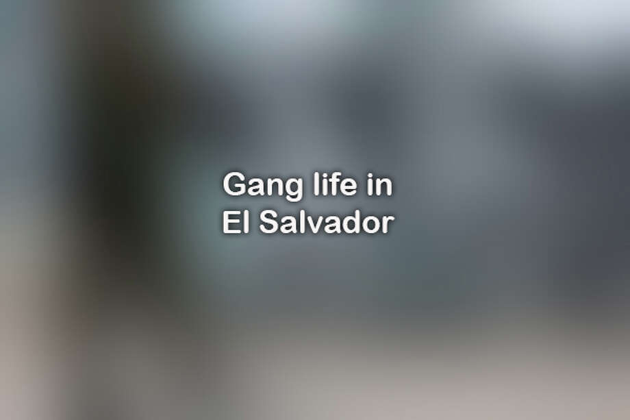 Click ahead for a look at gang life in El Salvador. Photo: JERRY LARA/San Antonio Express-News