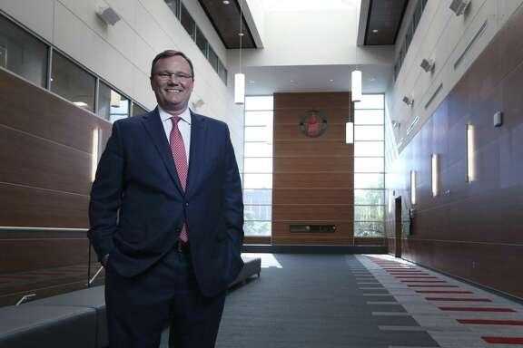 Dr. Tom Evans, president of University of the Incarnate Word for Texas Power Brokers profile. (Kin Man Hui/San Antonio Express-News)