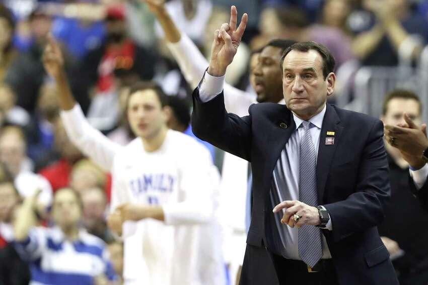 2. Mike Krzyzewski, Duke 2019 salary: $7.05 million