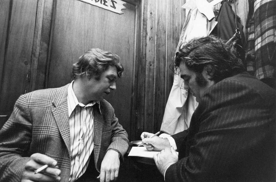 """HBO's """"Breslin & Hamill: Deadline Artists"""" is the story of two swashbuckling newspaper columnists who spoke for ordinary people and brought passion, wit and literary merit to their reporting about their city and nation, in HBO's words. Photo: Contributed Photo"""