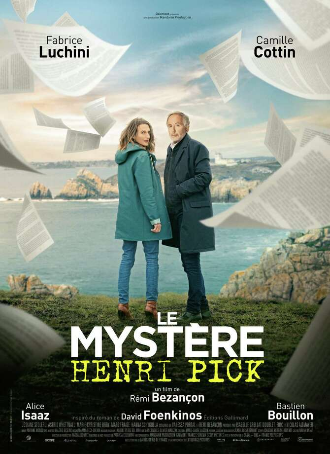 "The Focus on French Cinema film festival will open with ""Le mystere Henri Pick,"" or in English, ""The Mystery of Henri Pick."" The movie is a literary caper that follows a high-powered books editor who visits a small town and discovers the unpublished manuscript left behind by a pizza restaurateur. Photo: Contributed"