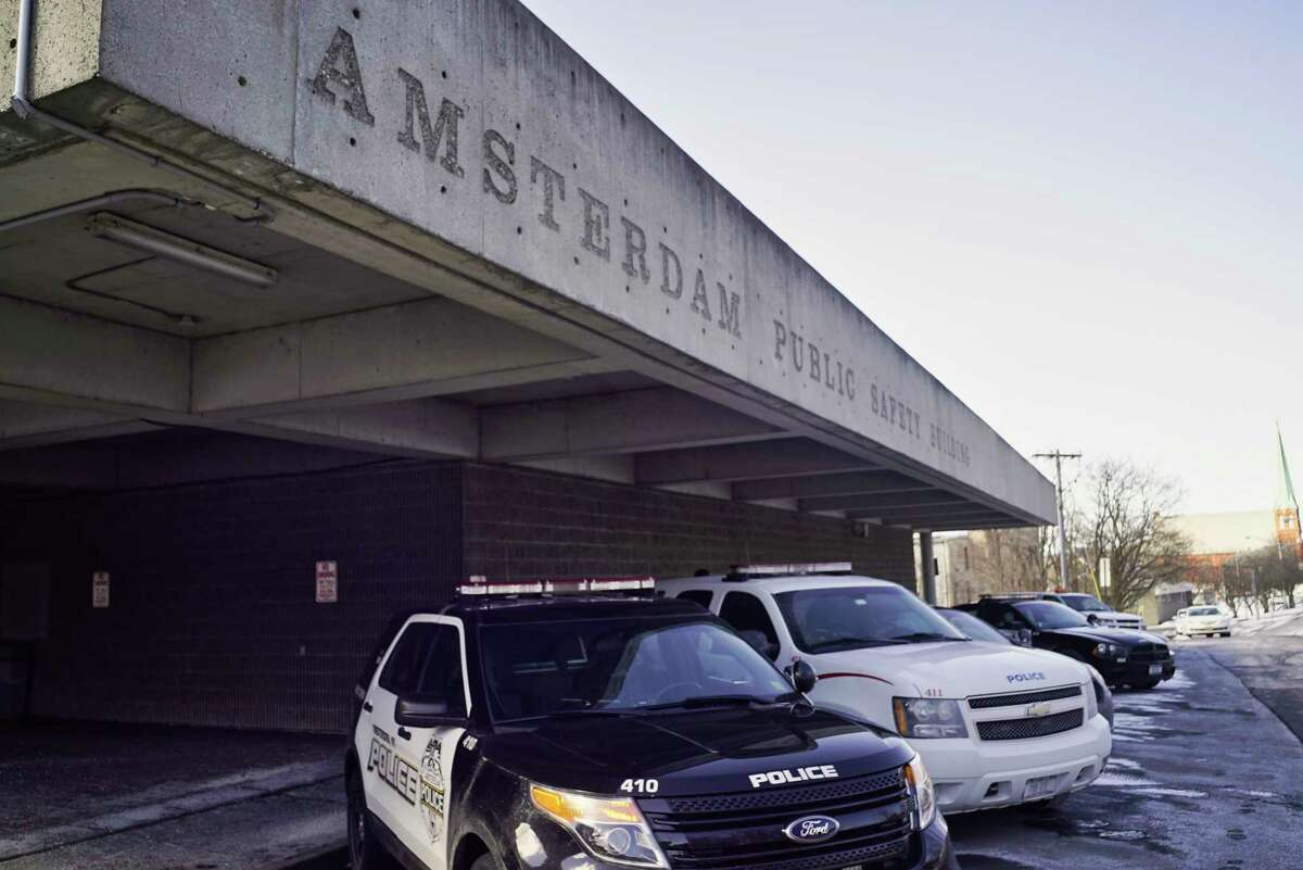 A view of the Amsterdam Police station on Tuesday, Feb. 26, 2019, in Amsterdam, N.Y.(Paul Buckowski/Times Union)