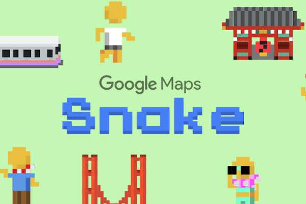 """For the next week in the Google Maps app, you can play a version of the nostalgic arcade game """"Snake"""" - and the best part - one of the cities you can choose as a destination to play the game in is San Francisco."""