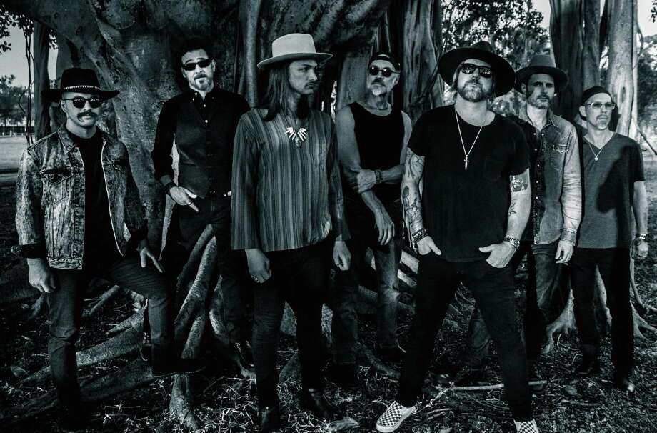 The Allman Betts Band, featuring the sons of Gregg Allman and Dickey Betts, will be in concert at Norwalk's Wall Street Theater on July 7. Photo: Martin Lewis / Contributed Photo / All Rights Reserved mbclewis@me.com