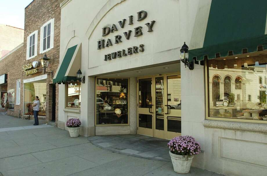 A file photo of the historic storefront of David Harvey Jewelers on Wall St. in Norwalk,Conn. Photo: Dru Nadler / ST
