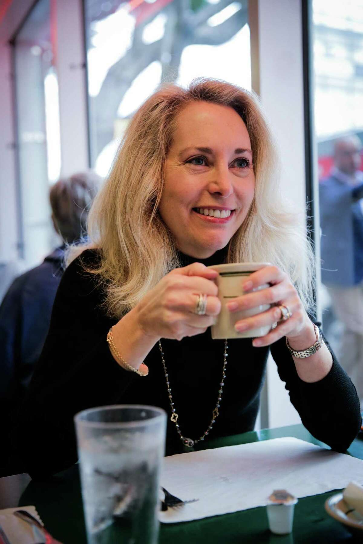 Ex-CIA operative Valerie Plame, shown in San Francisco in 2017, will appear at Texas A&M University on April 8.