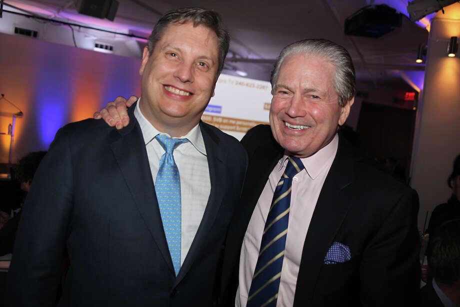 John Overdeck and Tom Hill Photo: Bloomberg Photo By Amanda Gordon / Bloomberg