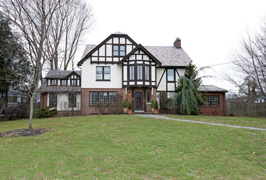 Grandeur emanates throughout this vintage Tudor originally constructed in 1919 by Isaac Schine, and later renovated in 1999 Photo: William Pitt Sotheby's International Realty / ONLINE_CHECK