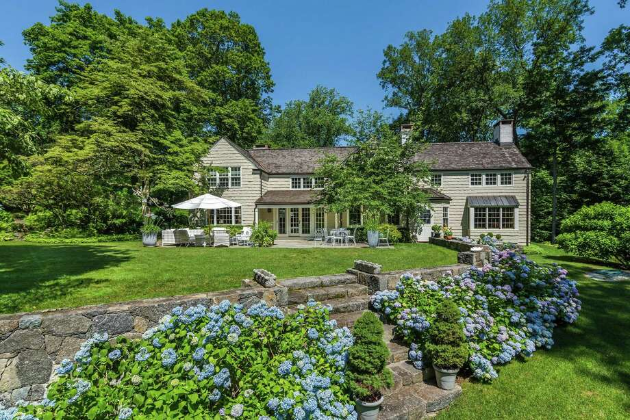 The New England country home at 28 French Road features 2.36 beautifully landscaped acres. Photo: Sotheby's International Realty / ONLINE_CHECK