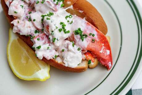Lobster roll at B.B. Lemon.