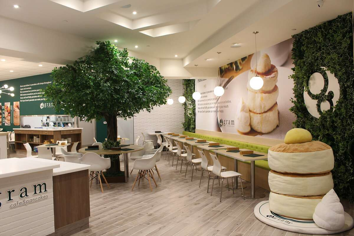 Japanese chain Gram Cafe & Pancakes opens its first U.S. restaurant in San Francisco's Stonestown Galleria.
