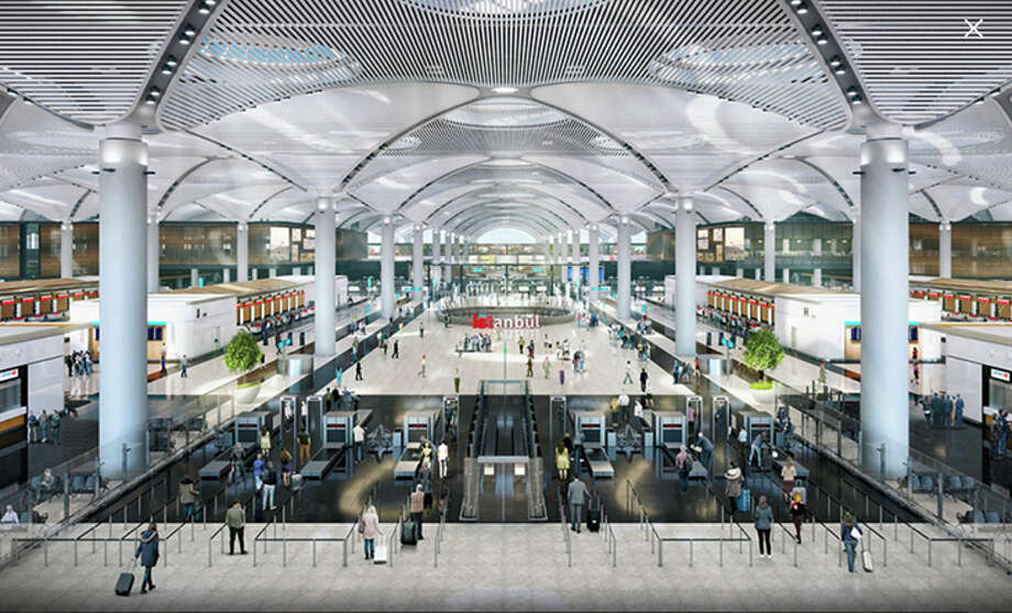 Istanbul's big new international airport opens this weekend. Photo: Istanbul Airport