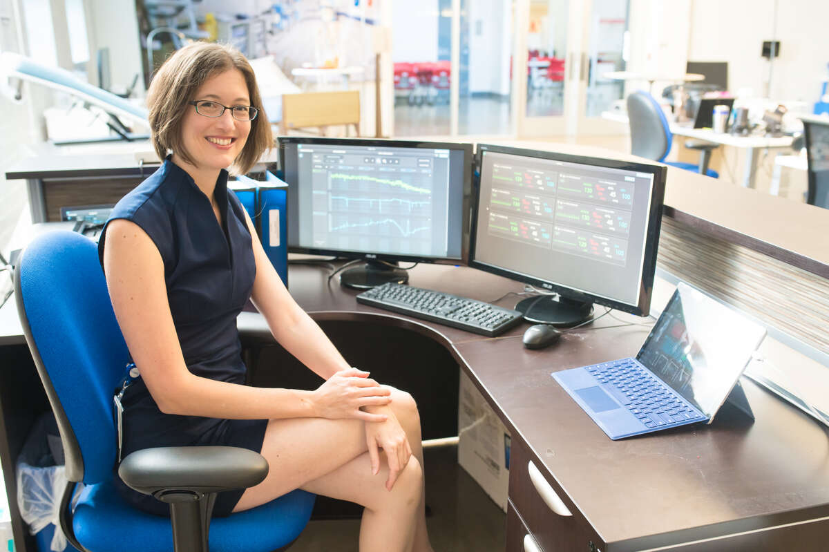 Pictured is Emma Fauss, co-founder and CEO of Medical Informatics Corp.
